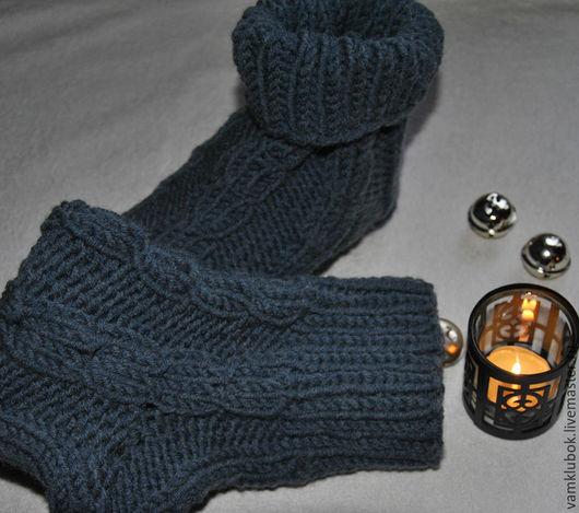 """Носки, Чулки ручной работы. Ярмарка Мастеров - ручная работа. Купить Носки вязаные """" Для него"""". Handmade."""