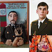 Куклы и игрушки ручной работы. Ярмарка Мастеров - ручная работа Кукла по фото Пограничник. Handmade.