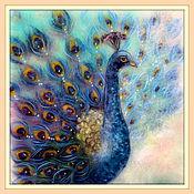 Картины и панно ручной работы. Ярмарка Мастеров - ручная работа Восточный танец Картина из шерсти, шерстяная живопись. Handmade.
