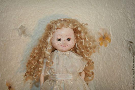 Коллекционные куклы ручной работы. Ярмарка Мастеров - ручная работа. Купить Ангел над городом (в подарочной коробке). Handmade.