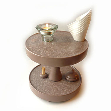 Для дома и интерьера ручной работы. Ярмарка Мастеров - ручная работа Поставка на стол многофункциональная, крутящаяся h 20 см. Handmade.