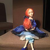 Куклы и игрушки ручной работы. Ярмарка Мастеров - ручная работа Авторская интерьерная кукла Ариэль. Handmade.