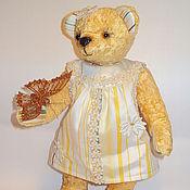 """Куклы и игрушки ручной работы. Ярмарка Мастеров - ручная работа Мишка Тэдди """"Машка-ромашка"""". Handmade."""