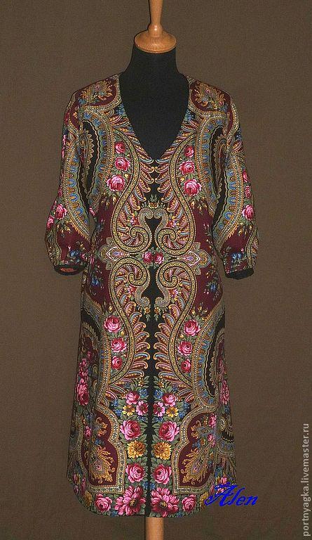 Туника платье из платка