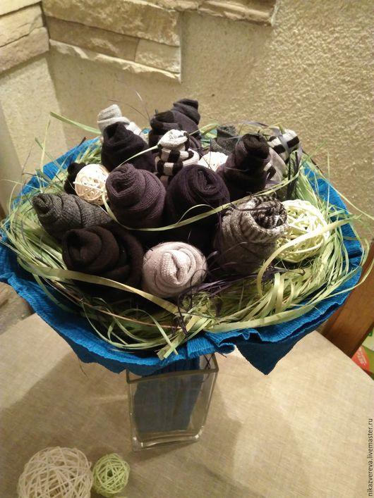 Подарки для мужчин, ручной работы. Ярмарка Мастеров - ручная работа. Купить Подарок мужчине Букет из носков. Handmade. Подарок мужчине
