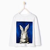 """Одежда ручной работы. Ярмарка Мастеров - ручная работа Детский лонгслив """"Bunny"""". Handmade."""