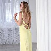 Одежда handmade. Livemaster - original item Evening dress with an open back. Handmade.