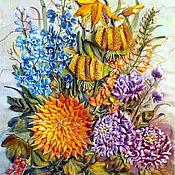 """Картины и панно ручной работы. Ярмарка Мастеров - ручная работа """"Осенний вальс"""". Handmade."""