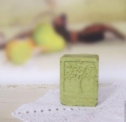 Мыло натуральное с нуля ручной работы. Мыло органическое. `Лесник`. Мыло с эфирными маслами. На зеленом чае. Handmade. Натуральная косметика. Ярмарка Мастеров - купить мыло.