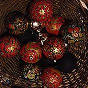 """Подарки к праздникам ручной работы. Ярмарка Мастеров - ручная работа Новогодние шары """"дань русским традициям"""". Handmade."""