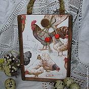 """Для дома и интерьера ручной работы. Ярмарка Мастеров - ручная работа короб""""Птичий двор"""". Handmade."""