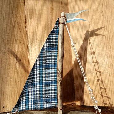 Для дома и интерьера ручной работы. Ярмарка Мастеров - ручная работа Элементы интерьера:декоративный интерьерный корабль. Handmade.