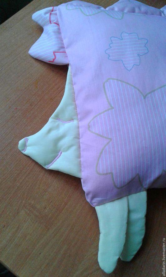 Детская ручной работы. Ярмарка Мастеров - ручная работа. Купить наволочка на детскую подушку. Handmade. Комбинированный, детям, малышам, зайчик