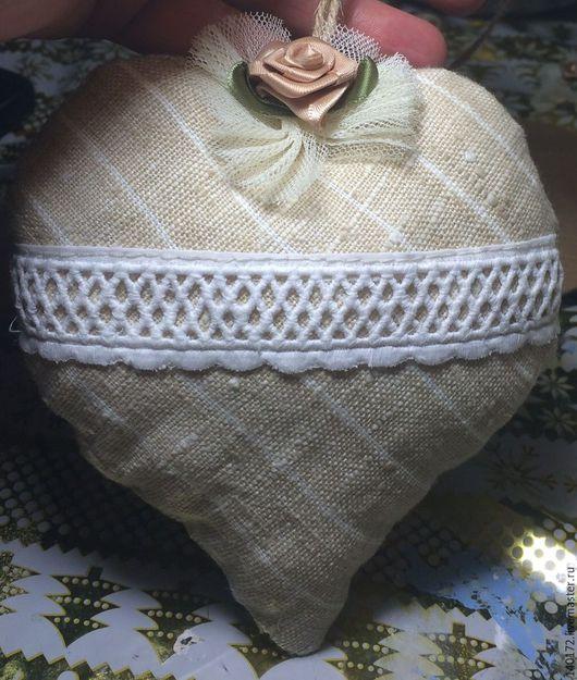 Подвески ручной работы. Ярмарка Мастеров - ручная работа. Купить Текстильные сердечки. Handmade. Комбинированный, сердечки, сердечко из фетра, текстиль