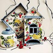 Для дома и интерьера ручной работы. Ярмарка Мастеров - ручная работа Набор чайный Фруктово-ягодный вкус. Handmade.