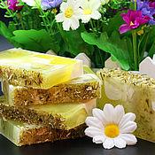 Soap handmade. Livemaster - original item Soap Summer Daisy. Handmade.
