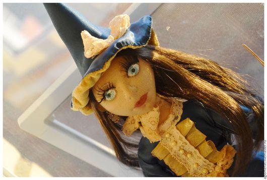 Коллекционные куклы ручной работы. Ярмарка Мастеров - ручная работа. Купить Маленькая Ведьмочка. Handmade. Кукла ручной работы, органза