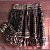 Одежда ручной работы. Ярмарка Мастеров - ручная работа Весенняя юбочка. Handmade.