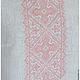 Льняное платье с ручной вышивкой Жемчужное-2. Модная одежда с ручной вышивкой. Творческое ателье Modne-Narodne. Платье Вышиванка, Платье в Стиле Бохо, Платья из Льна, Летнее Платье
