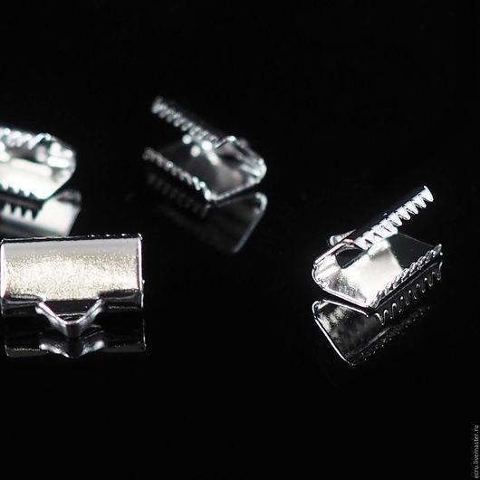 Зажим концевик для ленты 10 мм