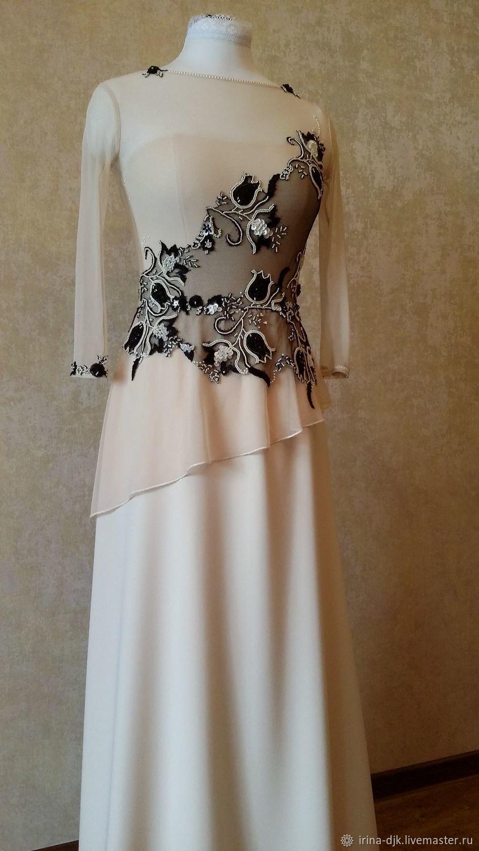 d36e029fc04 Платья ручной работы. Ярмарка Мастеров - ручная работа. Купить Нарядное  платье для торжества.