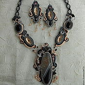 Украшения handmade. Livemaster - original item Kit Diva :necklace earrings. Handmade.