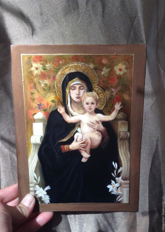 `Мадонна с младенцем` (панно)