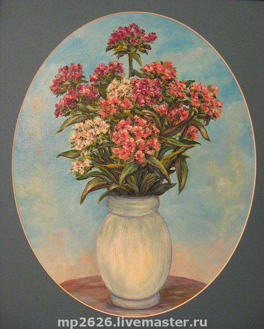 Картины цветов ручной работы. Ярмарка Мастеров - ручная работа. Купить Цветы. Handmade. Букет цветов, цветы, подарок 2012
