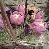 Цветы и флористика ручной работы. Ярмарка Мастеров - ручная работа Букет из конфет  Тюльпаны. Handmade.