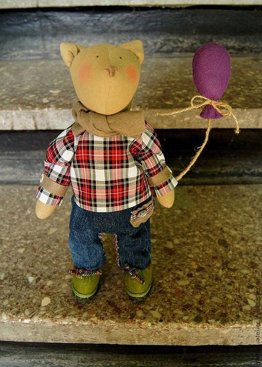 Куклы Тильды ручной работы. Ярмарка Мастеров - ручная работа. Купить Кот Макс. Handmade. Кот, необычный подарок