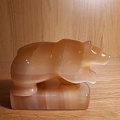 Статуэтки ручной работы. Ярмарка Мастеров - ручная работа Медведь. Handmade.