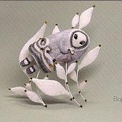 """Куклы и игрушки ручной работы. Ярмарка Мастеров - ручная работа Войлочная фигурка """"Первая Метель"""". Handmade."""