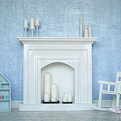 Для дома и интерьера ручной работы. Ярмарка Мастеров - ручная работа Декоративный камин из дерева. Handmade.
