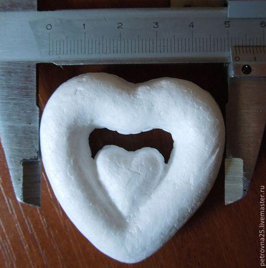 Другие виды рукоделия ручной работы. Ярмарка Мастеров - ручная работа. Купить Сердца  двойное 5см распродажа. Handmade. Сердце