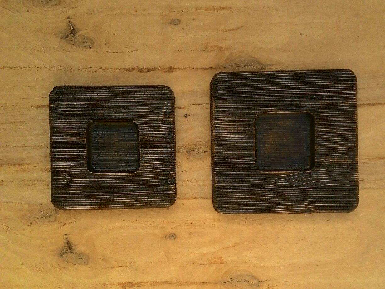 Рамка деревянная состаренная, с ярко выраженной текстурой, Фоторамки, Евпатория,  Фото №1