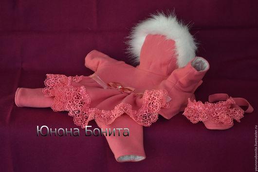"""Одежда для собак, ручной работы. Ярмарка Мастеров - ручная работа. Купить Комбинезон  пальто """"Ягода Розовая"""". Handmade. чихуахуа"""