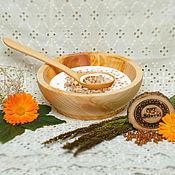 Для дома и интерьера handmade. Livemaster - original item Steam Plate (145mm) and a tablespoon of Siberian pine TN23. Handmade.