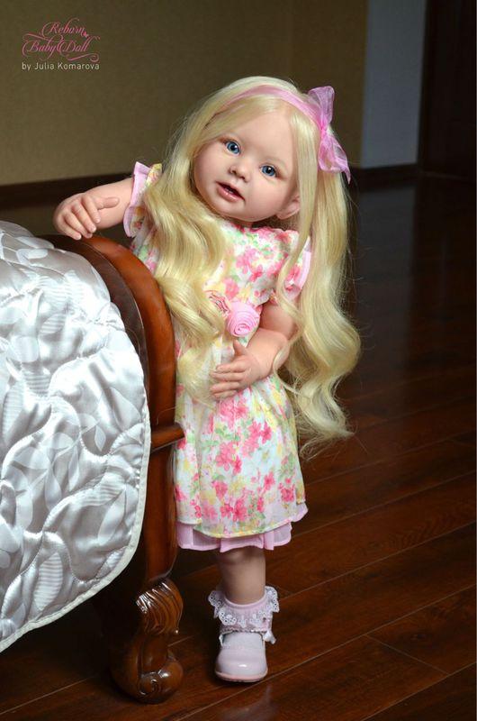 Куклы-младенцы и reborn ручной работы. Ярмарка Мастеров - ручная работа. Купить Бонни 4. Handmade. Молд, натуральные волосы