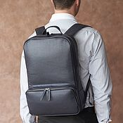 Livemaster - original item Backpack leather men`s Roy ( c9b0f225bbc1a