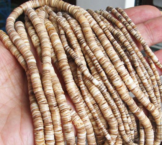 Для украшений ручной работы. Ярмарка Мастеров - ручная работа. Купить 10 см - Кейши  РАКУШКА два размера бусины. Handmade.