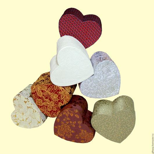 Праздничная атрибутика ручной работы. Ярмарка Мастеров - ручная работа. Купить Коробка-сердце. Handmade. Комбинированный, упаковка для подарка