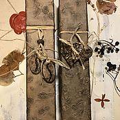 Сувениры и подарки handmade. Livemaster - original item Coffee-chocolate case for letter. Handmade.