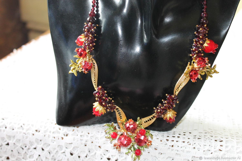 Necklace Garnet, Necklace, Krasnoyarsk,  Фото №1