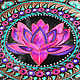'Lotus Deluxe' decorative plate. Plates. Art by Tanya Shest. Online shopping on My Livemaster.  Фото №2