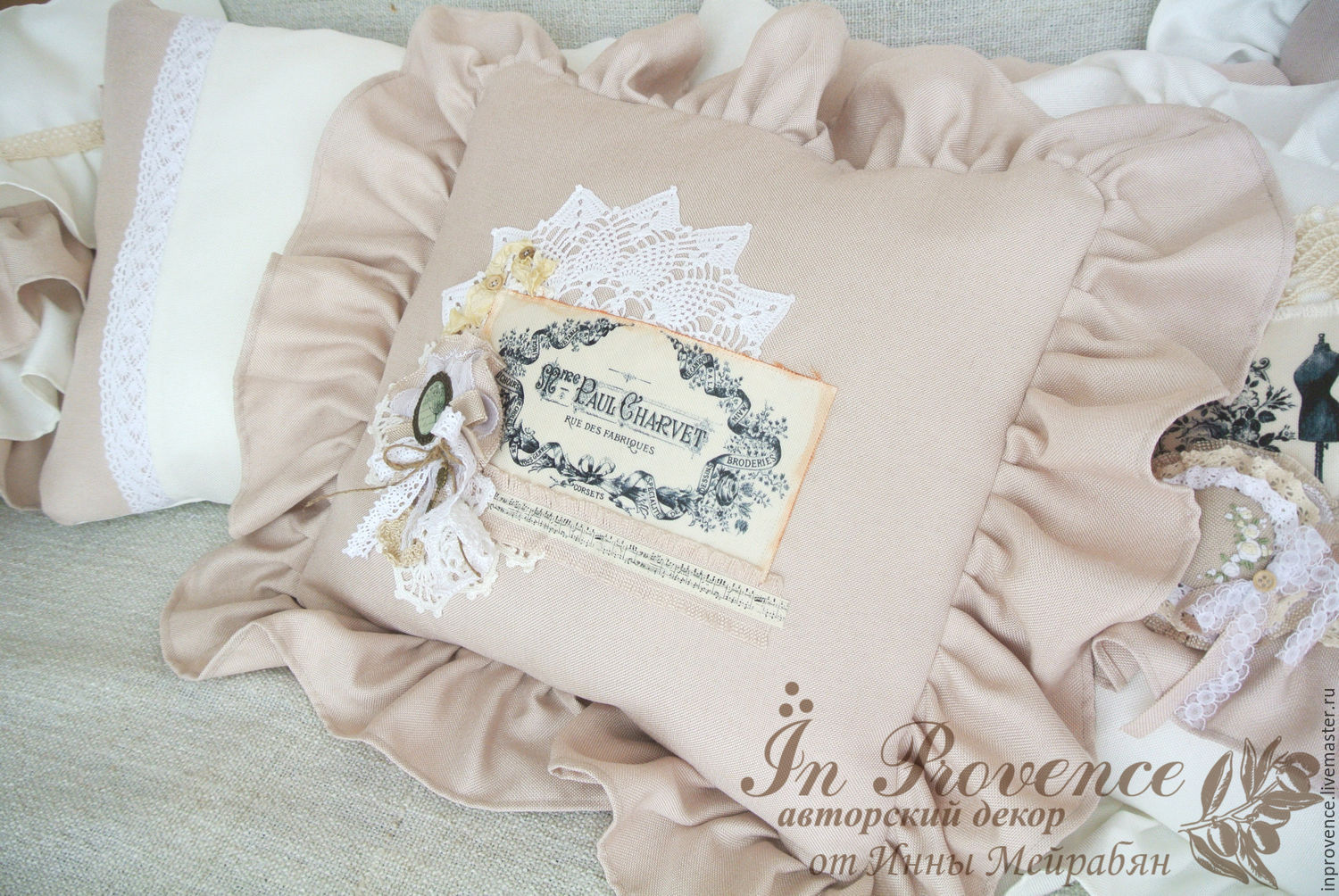 Decorative Pillow The Vintage Style French Style