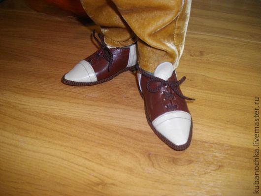 Одежда для кукол ручной работы. Ярмарка Мастеров - ручная работа. Купить Кукольная обувь.. Handmade. Коричневый, кукольная обувь