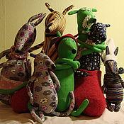 Куклы и игрушки ручной работы. Ярмарка Мастеров - ручная работа мюкла Петсон и Финдус. Handmade.