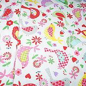 Ткани ручной работы. Ярмарка Мастеров - ручная работа Ткань детская хлопок 100 % перкаль для шитья и постельного. Handmade.