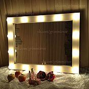 Для дома и интерьера ручной работы. Ярмарка Мастеров - ручная работа Гримерное зеркало. Handmade.