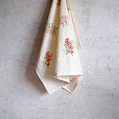 Для дома и интерьера handmade. Livemaster - original item Linen kitchen towels